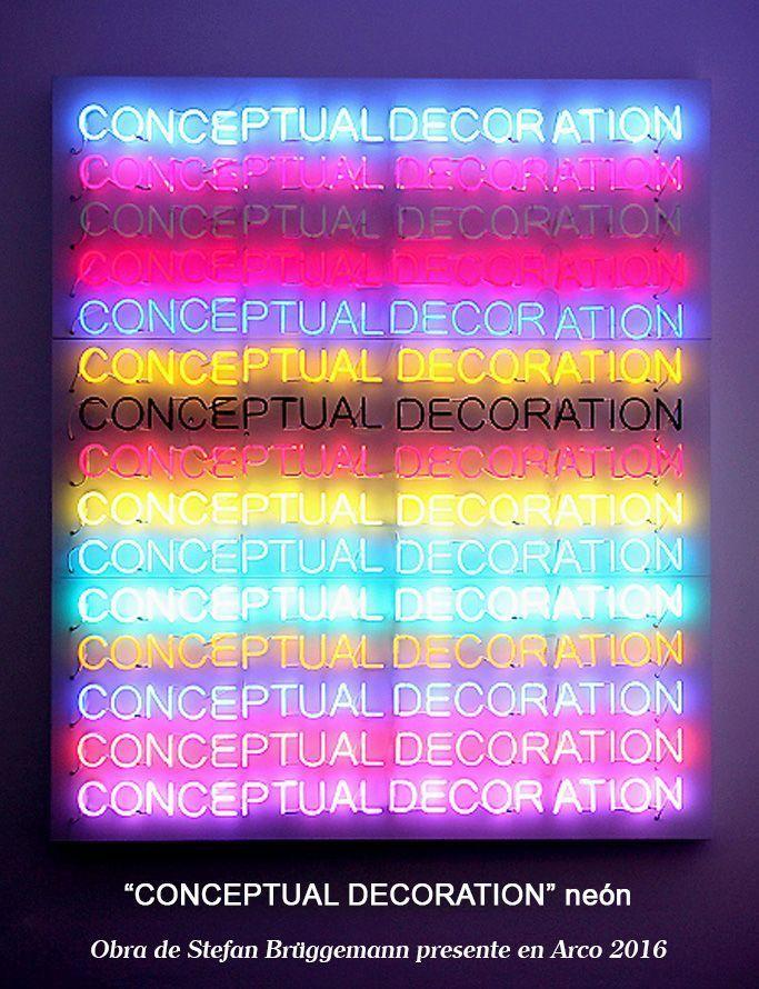 Conceptual Decoration